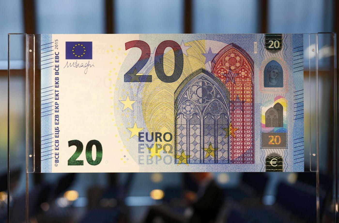 Scopri la nuova banconota da 20 euro