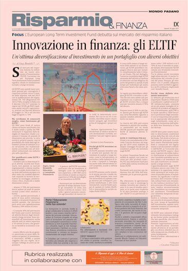 ELTFI: Innovazione in finanza